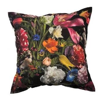 Scatter Cushion - Baroque Black (60x60cm)