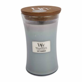 Woodwick Candle Soft Chambray - Large