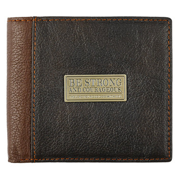 Leather Wallet - Courageous