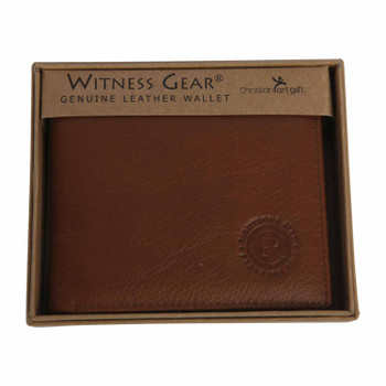 Leather Wallet - Righteous Man