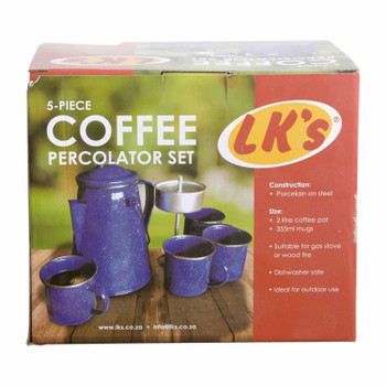 5Pc Coffee Percolator Set