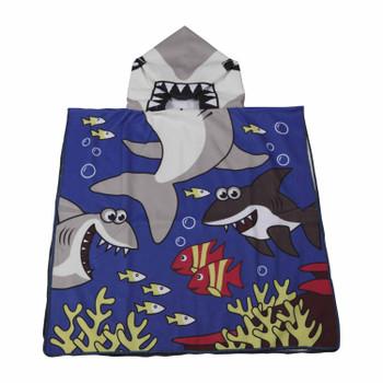 Baby Shark Beach Cloak