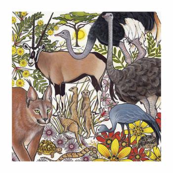 Karoo Ccreatures Card