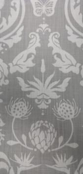 Table-cloth Protea Damask Light Grey - 2.8x1.4m