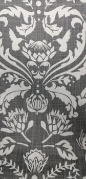 Tablecloth - Protea Damask Medium Grey (280x140cm)