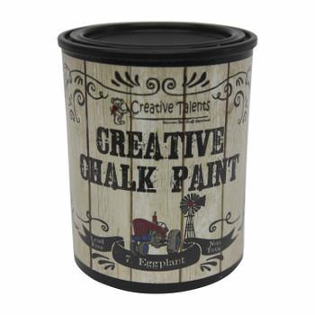 Creative Chalk Paint 1L Eggplant