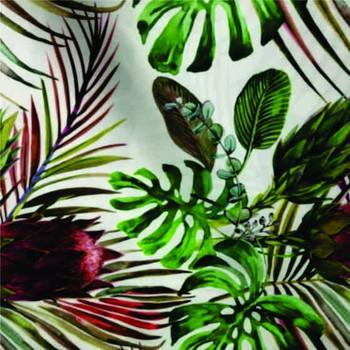 Table cloth 2.8x1.5m - Botanic Protea White