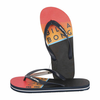 Northpoint Flip Flops Navy/Red