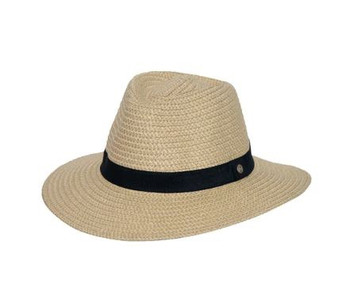 Braided Fedora Natural 58cm Hat