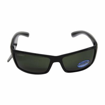 Black fashion sunglasses silver inlet sunglasses