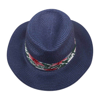 Blue Wide rim Knitted Hat (31x11cm)