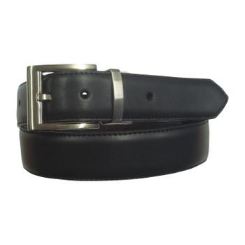 Reversible Genuine Leather Black/Brown 35mm