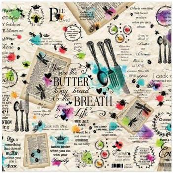 Deco paper - English Cutlery