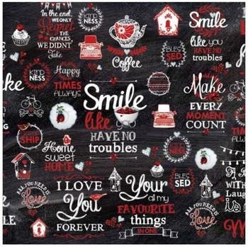 Deco paper - Chalkboard Sayings