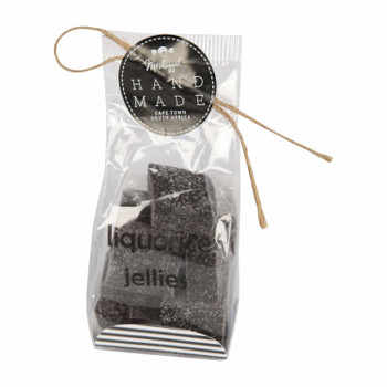 Jelly Squares Liquorice 100g