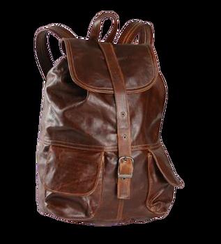 Mason Backpack Tobacco Leather