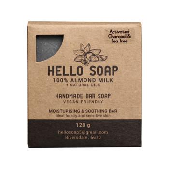 Activated Charcoal & Tea Tree Handmade Soap Bar
