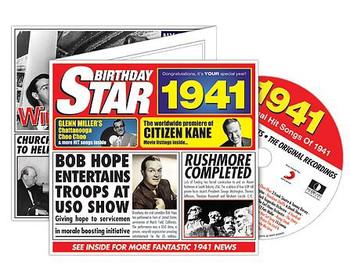 CD Cards Birthday Star 1941