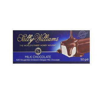 Sally Williams Milk Chocolate 50g