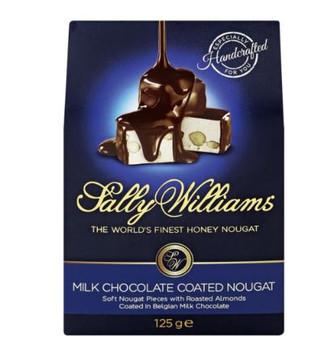 Sally Williams Milk Chocolate 125g