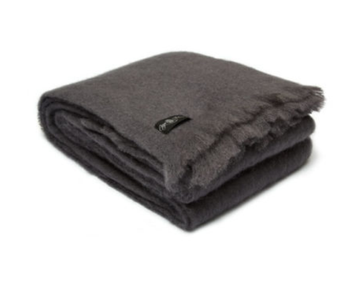 Anthracite Double Blanket 200x220cm