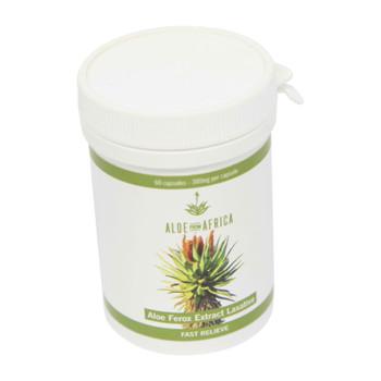 Aloe Ferox Leaf Powder Laxative - Slow relieve / 60's
