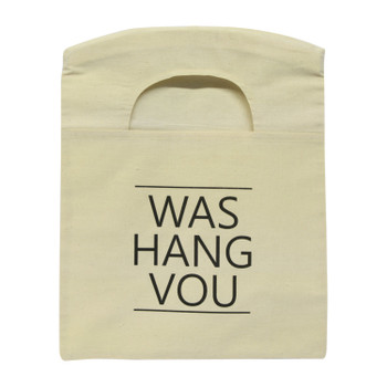 Printed Peg Bag - Was Hang Vou