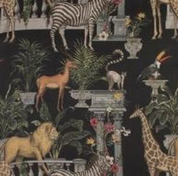 Table Runner - Jungle Palace Dark (280x0.50cm)