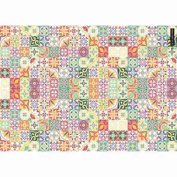 Gift Wrap Paper  - Colorful Mosaic
