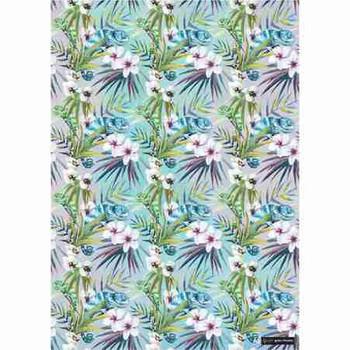 Gift Wrap Paper - Chameleon Flowers