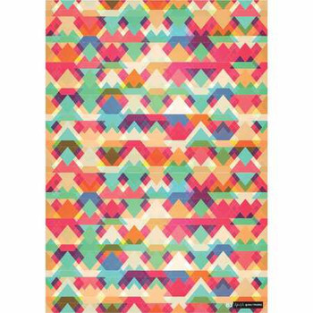 Gift Wrap Paper  - Geometric Triangles