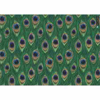 Gift Wrap Paper  - Peacock