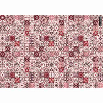 Gift Wrap Paper - Red Mosaic
