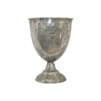 Baruda Giant Trophy in Antique Silver (44cm)