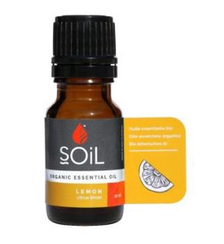 Organic Lemon Essential Oil 10ml