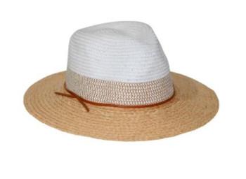 Tina M Natural Fedora Hat