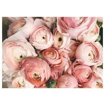 PVC Placemat - Pink Roses