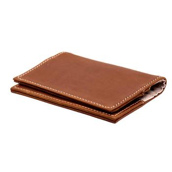 Passport Holder Tobacco Leather
