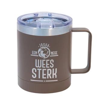 Wees Sterk Joshua 1:9 Stainless Steel Mug