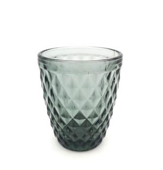 Drinking Glass - Grey (8x10cm)