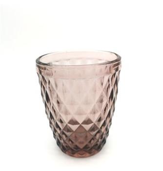 Drinking Glass - Purple (8x10cm)