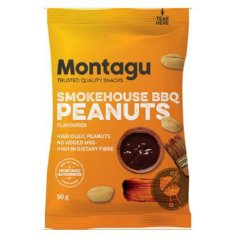 Peanut Blanched Roasted - Smokehouse BBQ 50g