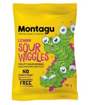 Sour Wiggies - Lemon - 40g