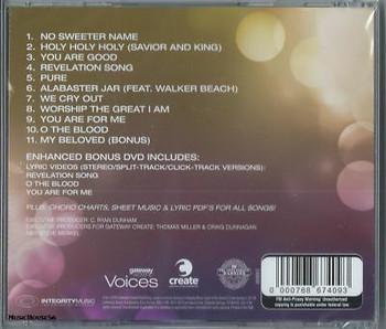 CD /DVD Voices by Kari Jobe/ Gateway Worship