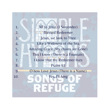 CD Simple Hymns / Songs of Redemption