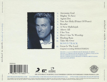 CD Decades of Worship by Michael W. Smith