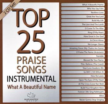 CD Top25 Praise Songs / Instrumental