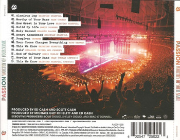 CD Worhty of Your Name by Passion