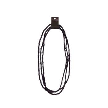 String of Wooden Beads 95cm - Dark Navy