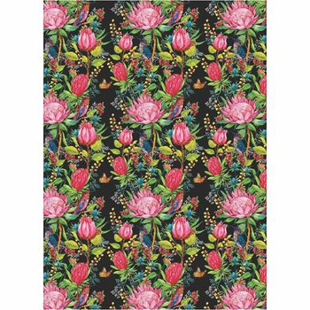 Medium PVC Table Cover - Collection Of Proteas (1.8x1.3m)